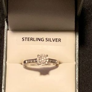 Women's size 9 engagement ring